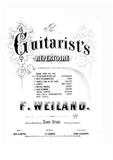 The Bohemian Girl: Act III, Then You'll Remember Me, for Voice and Guitar by Michael William Balfe
