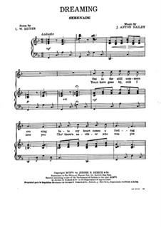 Dreaming. Serenade: Dreaming. Serenade by J. Anton Dailey