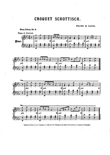 Croquet Schottisch: Croquet Schottisch by Frank M. Davis