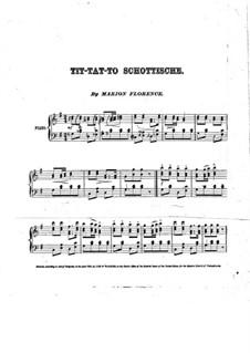Tit-tat-to Schottische: Tit-tat-to Schottische by Marion Florence