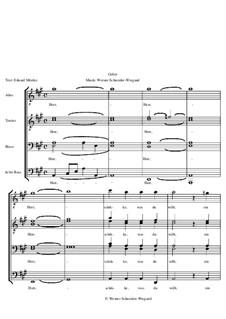 Gebet, Op.19: Nr.2 by Werner Schneider-Wiegand