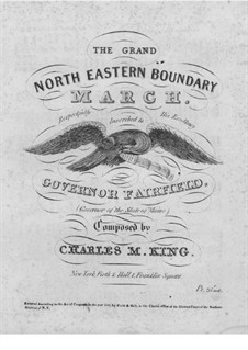 The Grand North Eastern Boundary March: The Grand North Eastern Boundary March by Charles M. King