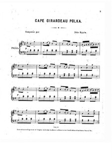 Cape Girardeau Polka: Cape Girardeau Polka by John Kypta