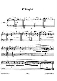 Wellenspiel, Op.6: Wellenspiel by Fritz Spindler