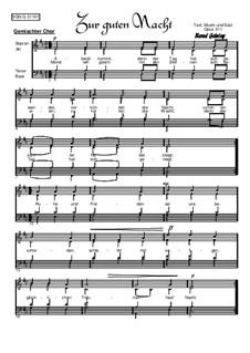 Zur guten Nacht, Op.311: Zur guten Nacht by Bernd Gehring