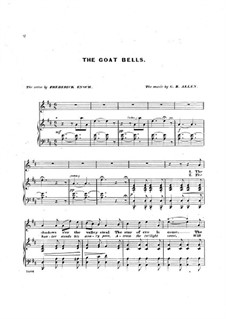 The Goat Bells: The Goat Bells by George Benjamin Allen