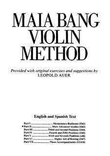 Violin Method: Part II by Maia Bang