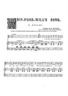 Whip-Poor-Will's Song: Whip-Poor-Will's Song by Harrison Millard
