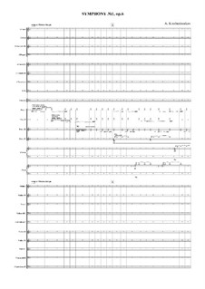 Symphony No.1, Op.6: Symphony No.1 by Alexey Krasheninnikov