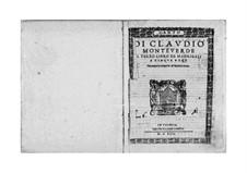 Book 3 (a cinque voci), SV 60–74: Parts by Claudio Monteverdi