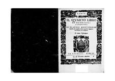 Book 4 (a cinque voci), SV 75–93: Parts by Claudio Monteverdi