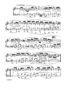 Suite No.3 in D Minor, HWV 428: Movement III by Georg Friedrich Händel