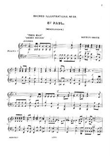 St. Paul, Op.36: Sacred Illustrations by Felix Mendelssohn-Bartholdy