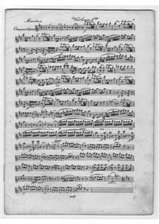 La gazza ladra (The Thieving Magpie): Version for string quartet – parts by Gioacchino Rossini