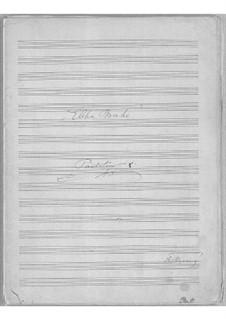 Ebba Brahe, Op.42: Full score by Frederik Rung