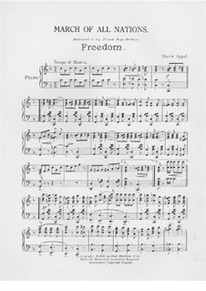 March of All Nations. Freedom: March of All Nations. Freedom by Harry Appel
