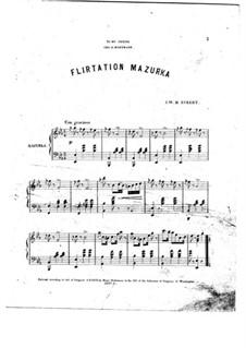 Flirtation Mazurka: Flirtation Mazurka by J. W. H. Eckert