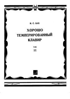 Complete, BWV 870-893: Complete by Johann Sebastian Bach