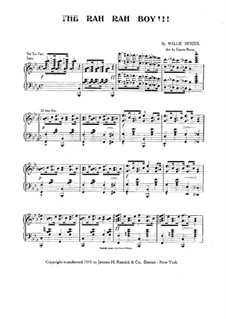 The Rah Ray Boy!!! Ragtime and Two-Step: The Rah Ray Boy!!! Ragtime and Two-Step by Wallie Herzer