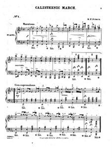 Calisthenic March: Calisthenic March by H. P. Pierce
