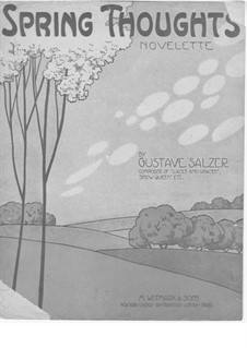 Spring Thoughts: Spring Thoughts by Gustave Salzer