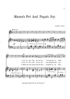 Mama's Pet and Papa's Joy: Mama's Pet and Papa's Joy by Sidney Rice