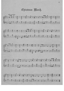 Christmas March: Christmas March by Unknown (works before 1850)