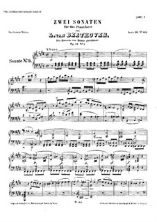 Sonatas for Piano (Selected): Eight Sonatas, Op.14, 22, 26-28, 31/1 by Ludwig van Beethoven