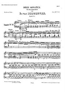 Sonatas for Piano (Selected): Eight Sonatas, Op.31/2-3, 49, 53, 54, 57, 78 by Ludwig van Beethoven
