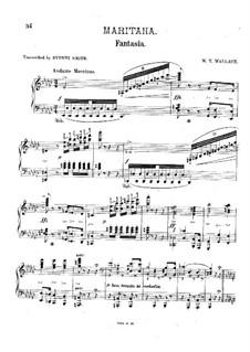 Maritana. Fantasia, Op.207: Maritana. Fantasia by William Vincent Wallace