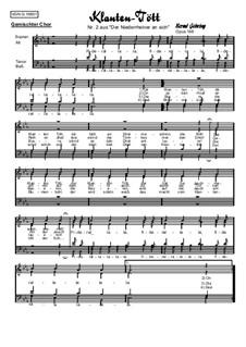 Der Klanten Tött, Op.168: Der Klanten Tött by Bernd Gehring