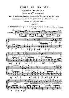 Idole de ma vie: Idole de ma vie by Charles Philippe Lafont