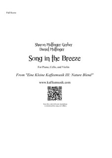 Song in the Breeze: Song in the Breeze by Sharon Gerber, Daniel Mulfinger
