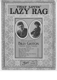 That Lovin' Lazy Rag: That Lovin' Lazy Rag by Edgar Selden