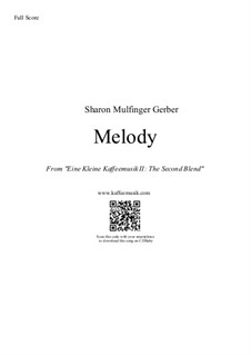 Melody: Melody by Sharon Gerber