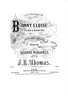 Bonny Eloise: Bonny Eloise by John Rogers Thomas