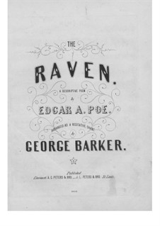 The Raven: The Raven by George Barker
