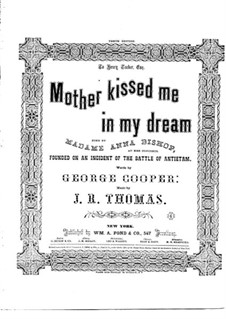 Mother Kissed Me in My Dream: Mother Kissed Me in My Dream by John Rogers Thomas