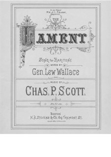 The Lament: The Lament by Charles Phillips Scott