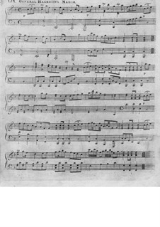 Harrison's Grand March: For piano by Unknown (works before 1850)