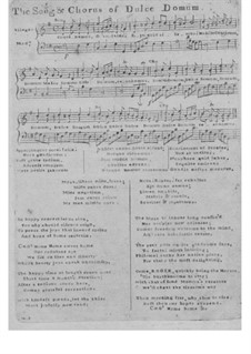 Dulce Domum: Dulce Domum by Unknown (works before 1850)