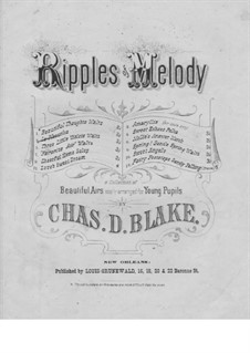 Mazurka for Piano: Mazurka for Piano by Charles Dupee Blake