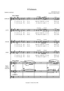 O Salutaris Hostia: O Salutaris Hostia by Edward Elgar