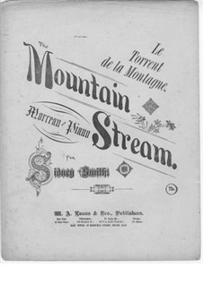 The Mountain Stream: The Mountain Stream by Sydney Smith