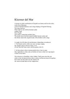 Klezmer del Mar: Klezmer del Mar by David W Solomons