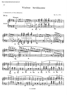 Waltzes, Op.34: Complete set by Frédéric Chopin