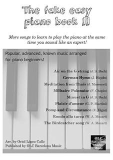 The Fake Easy Piano Book (II): The Fake Easy Piano Book (II) by OLC Barcelona Sheet Music