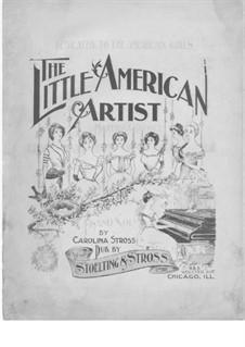 The Little American Artist: The Little American Artist by Caroline Stross
