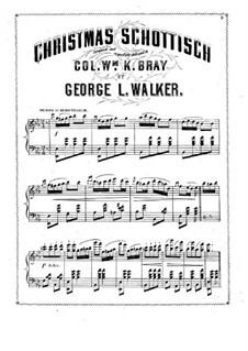 Christmas Schottisch: Christmas Schottisch by George L. Walker