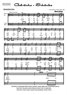 Getränke-Schänke, Op. 356: Getränke-Schänke by Bernd Gehring